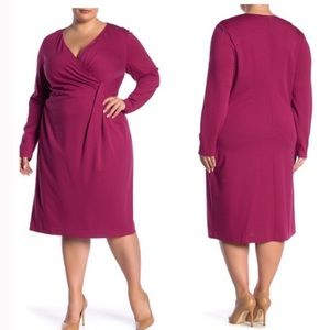 NWT Lafayette 148 New York Amaryllis Pink Dress